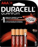 Duracell - Quantum AAA Batteries (8-Pack) - Red