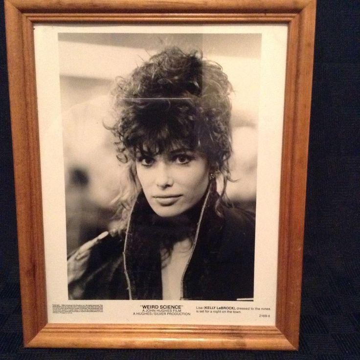 Lisa Kelly LaBrock Weird Science 1984 Movie Black White Photo Print Wood Frame