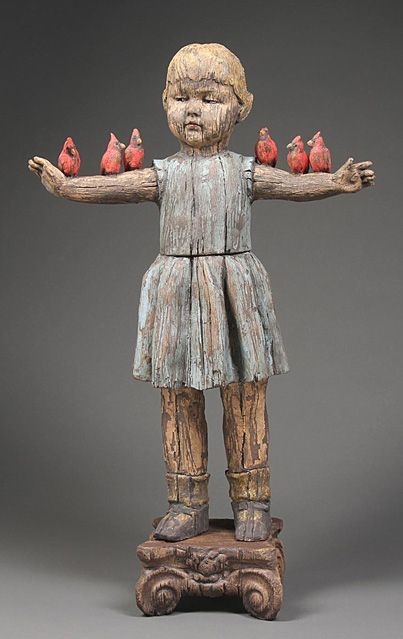 Margaret Keelan - I do like her sculptures/art...reminds me of Santos dolls