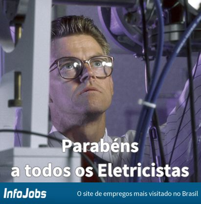 #diadoprofissional #infojobs #eletricista #vaga #emprego #trabalho #oportunidade