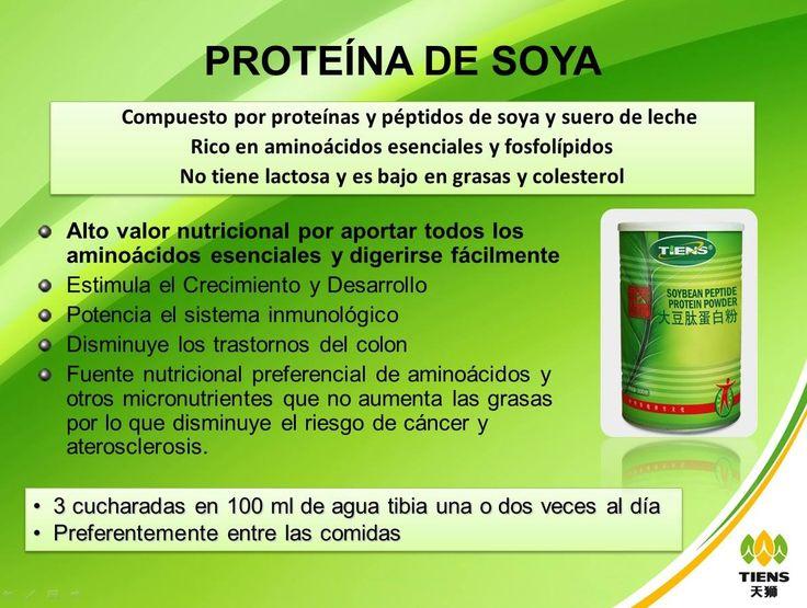 Proteina de Soya Tiens  http://productossaludablestiens.blogspot.com.co/2015/05/proteina-de-soya-tiens-aumenta-masa.html