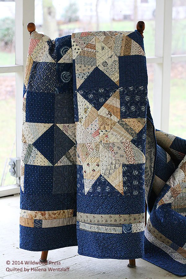 Helena Wentzlaff's quilting tradition