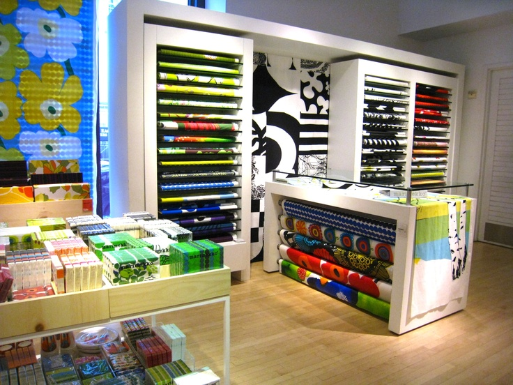 One day we could do this - sell Marimekko fabric by the metre