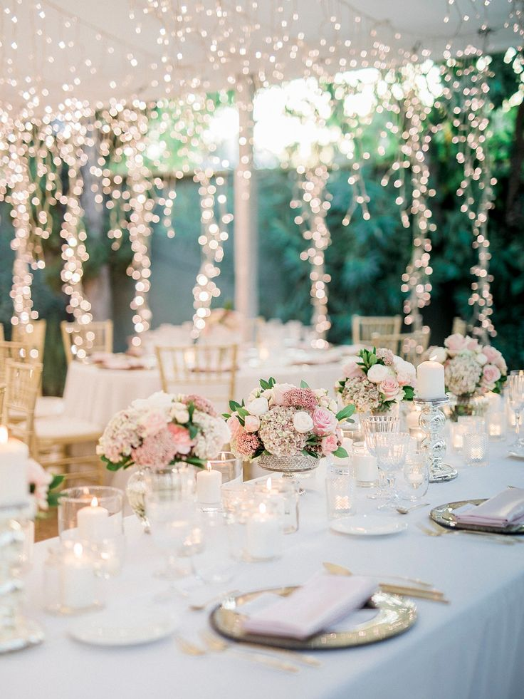 Romantic Destination Wedding in Spain With Flowers & Lights That WOW