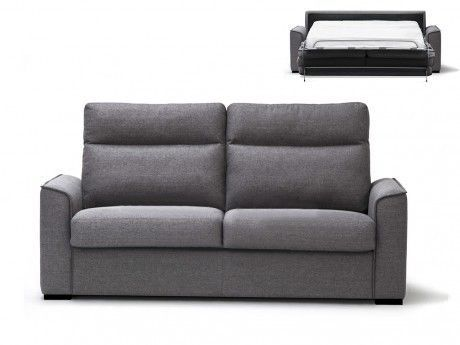 Schlafsofa Stoff Express Bettfunktion Mit Matratze Olten   Grau In Möbel U0026  Wohnen, Möbel,