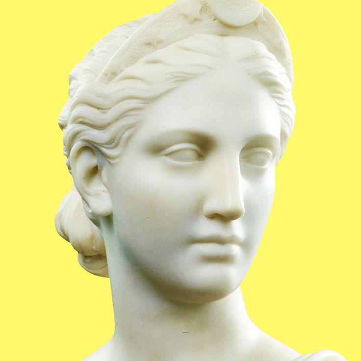 ARTEMISA / DIANA. Diosa de la caza, los animales salvajes, el terreno virgen, los nacimientos, la virginidad y las doncellas.