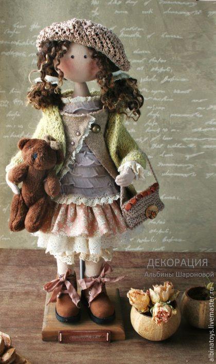 Collection de poupées faites à la main.  Textile Ideliya.Boho style de poupée.  Sur motifs .. ALBINAToys .. Boutique en ligne Salon Master.