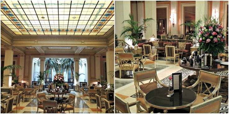 Iconic Luxury Hotels: Hotel Grande Bretagne, Athens winter garden