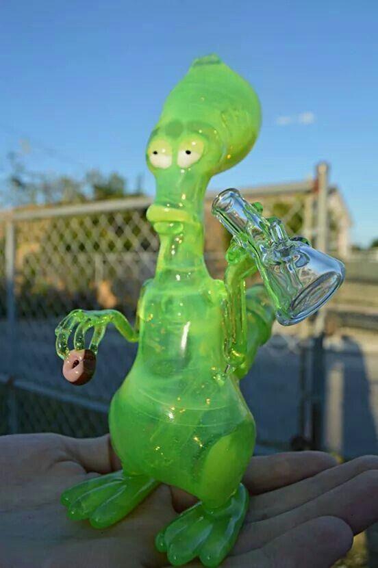Glass Alien Bongs For Sale