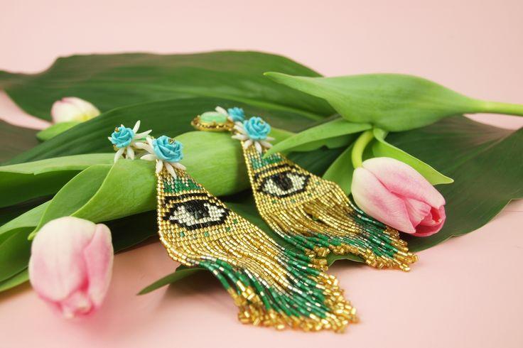 Evil Eye Earrings!