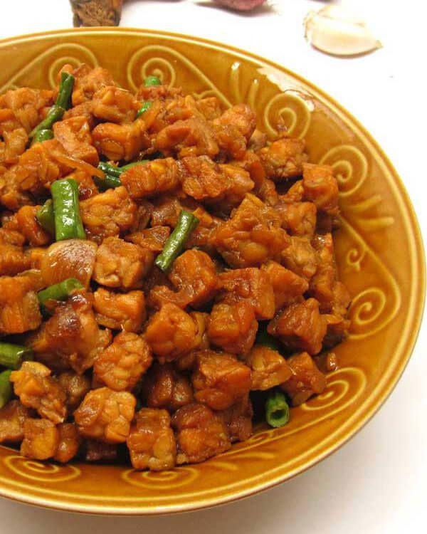 Tumis Tempe Kecap : tumis, tempe, kecap, 3-tumis-tempe-bumbu-kecap, Resep, Masakan,, Masakan, Indonesia,, Makanan