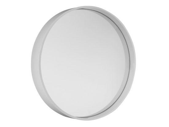 Bathrooms Online Round Mirror 700mm Gloss White | Bathrooms Online