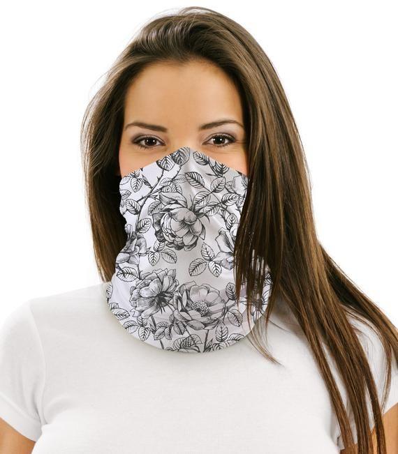 Multifunctional Neck Face Cover Headband Casual Bandana Balaclava Face Cover Scarf Neck Gaiter