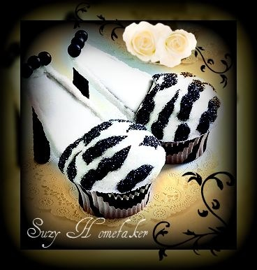 stiletto cupcakes!! so cute and easy to make!