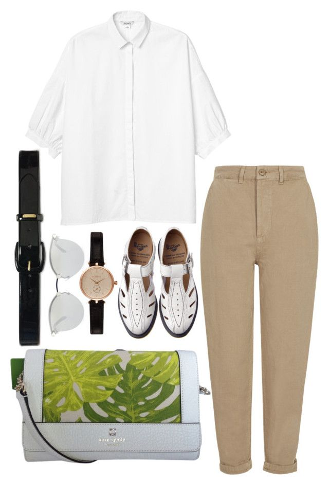 """""""Untitled #547"""" by emmarussell84 ❤ liked on Polyvore featuring мода, Monki, Topshop, Comme des Garçons, Kate Spade, Fendi, Barbour и Lauren Ralph Lauren"""