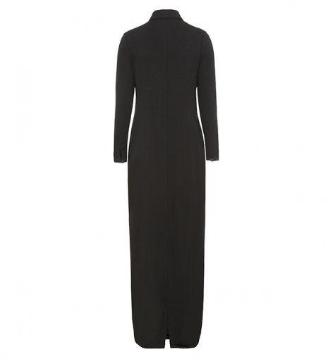 black everyday shirt abaya