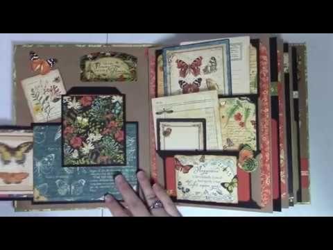 Pockety Pocket Mini Album - Page Construction Video