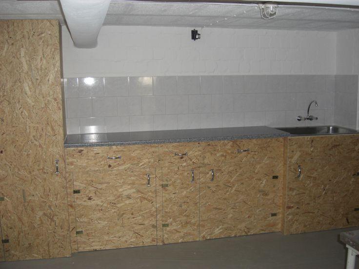 Zerlegeküche in der Garage Bauanleitung zum selber bauen