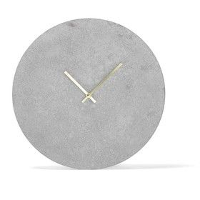 Concrete Look Clock