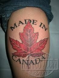 canada tattoo - Google Search