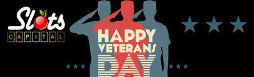 Slots Capital Online Casino Veteran Day Promotion