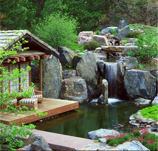 55 Visually striking pond design ideas for your backyard