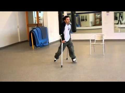 This dancer is SO good you almost forget he's paraplegic. That's right. Absolute wow factor.