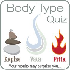 What is your body type (dosha) telling you? The 5 comprehensive profiles of this free body type quiz will give you the secret to letting the truth of you out!