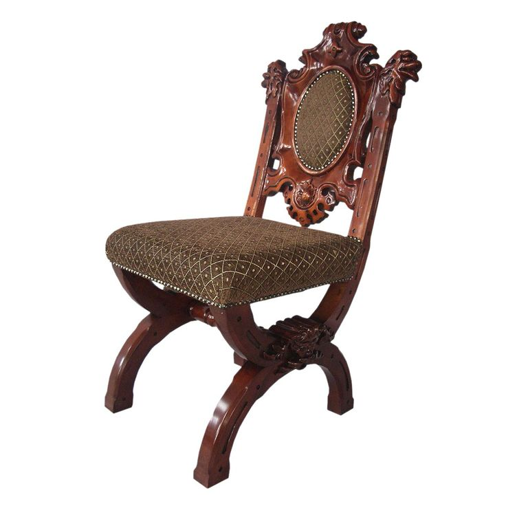 Design Toscano | Design Toscano KS6071 Sir Raleigh Hand Carved Medieval  Dining Chair .