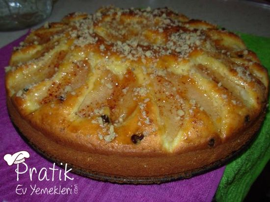 elmali diyet kek