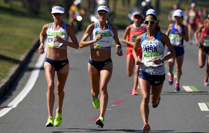USA! Rio Marathon finshers #9, 6, and 7! Amy Cragg, Shalane Flanagan, and Desi Linden!