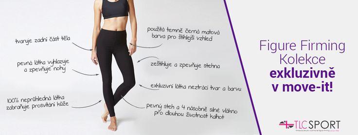 Pevné tvarující legíny s push-up efektem, které zpevní postavu, opticky zeštíhlují a dají se nosit na sport, ve volném čase nebo jako součást běžného oblečení. V ČR exkluzivně na www.move-it.cz
