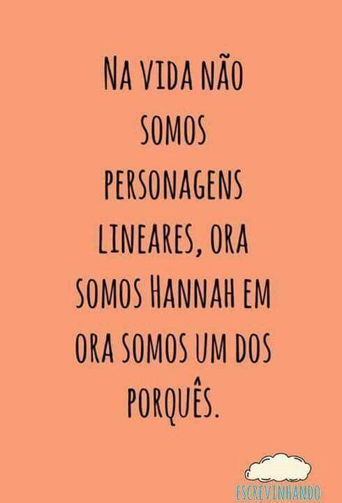#NãoSejaUmPorque #13ReasonsWhy #Os13Porquês