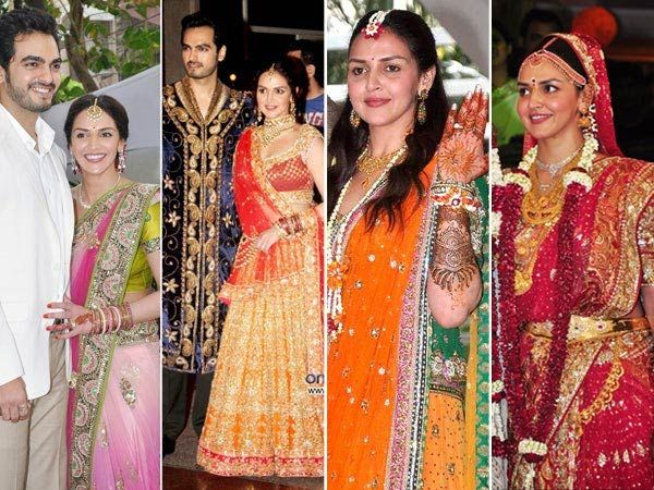 Celebrity Wedding Dresses Bollywood