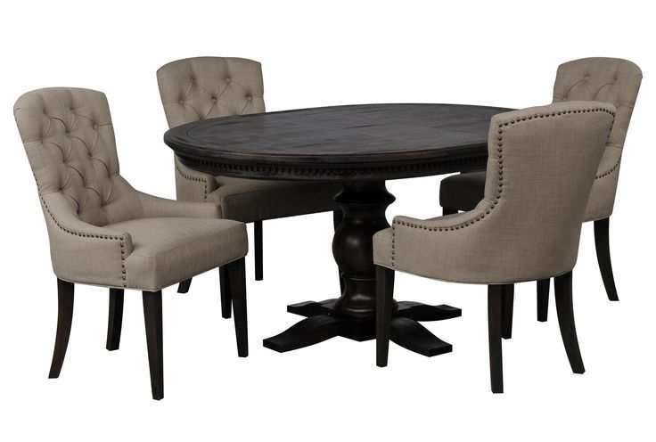 Jefferson 5 Piece Round Dining Set