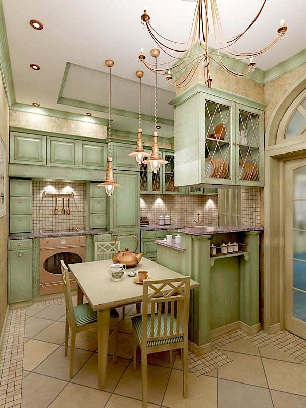 Кухня в стиле прованс: французский шарм, изысканность и простота. - MarketGid
