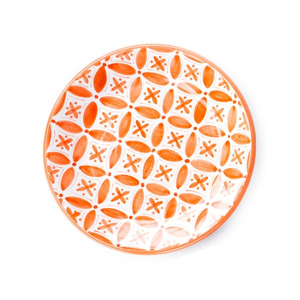 Side Plate - Fez Orange