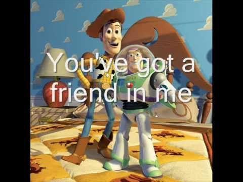 Toy story youve got a friend in me lyrics