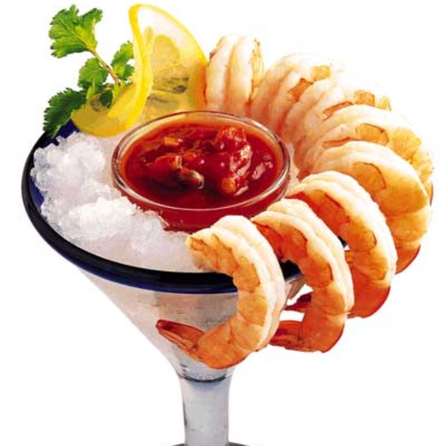 Favorite holiday party food is Jumbo Shrimp Cocktail