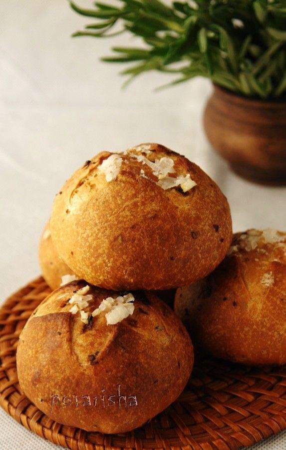Хлеб с розмарином 3