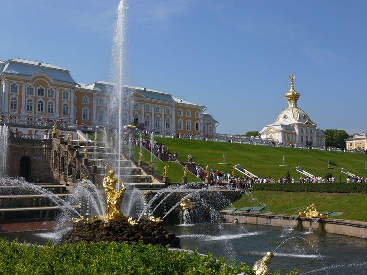 Нижний парк, Петергоф. Petergof