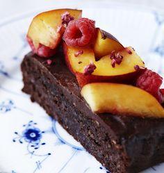 Chokoladekage uden mel og sukker