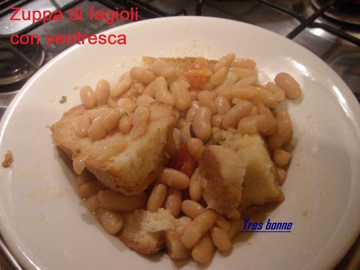 Zuppa+di+fagioli+con+ventresca