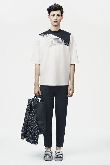 Christopher Kane Menswear Spring Summer 2015 London 3d print