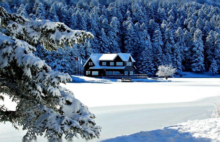 Kışın Gidilebilecek En İyi Tatil Yerleri - Bolu Abant Gölü