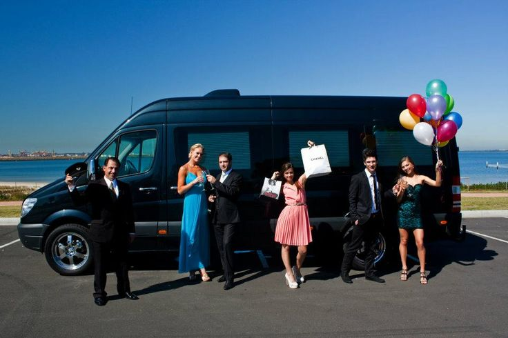 New to the fleet:  The Mercedes Party Bus