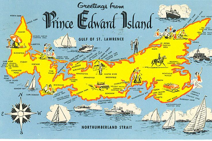 Prince Edward Island, Canada ... the setting of a childhood favorite book: Anne of Green Gables.