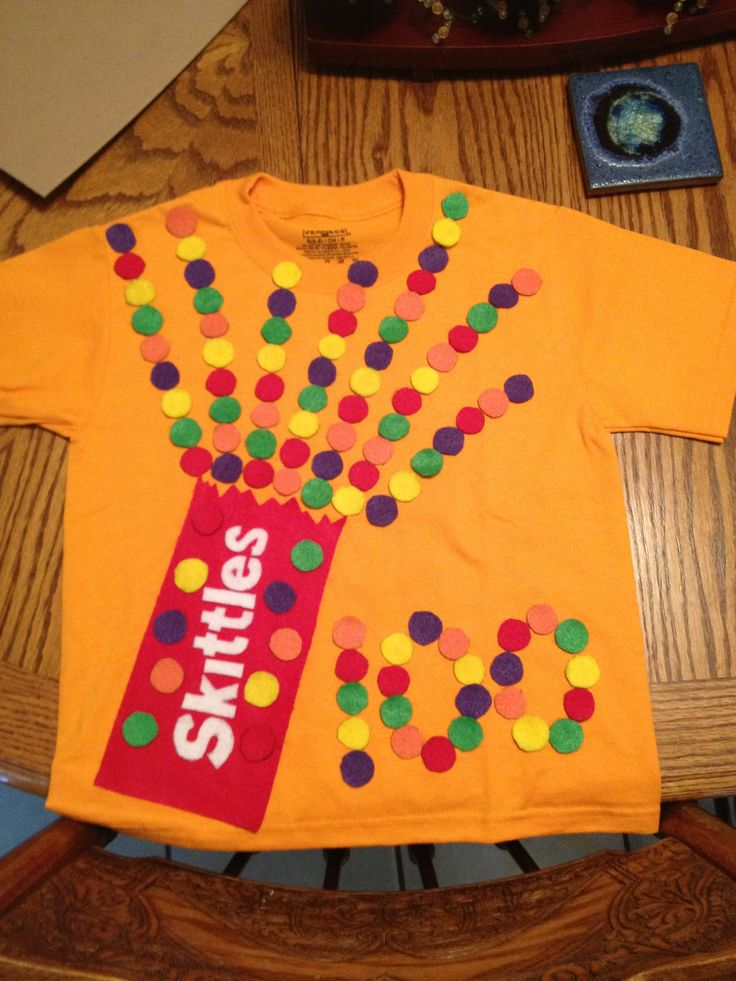Our 100 days of Kinder shirt