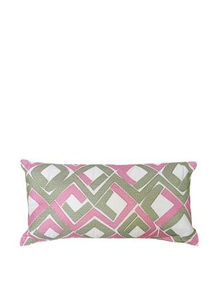 76% OFF Trina Turk Tiger Leaf Diamond Pillow, Diamond, 10