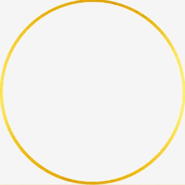 Circulo Marco Dorado Clipart De Circulo Redondo Circulo Png Y Psd Para Descargar Gratis Pngtree Frames Design Graphic Frame Border Design Gold Circle Frames